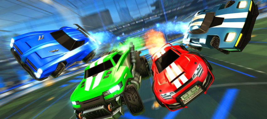 Le cross-platform dans Rocket League
